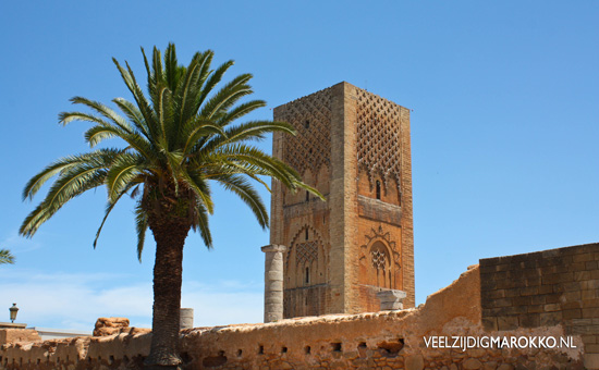 Tour Hassan 2 Rabat, Hassan tower